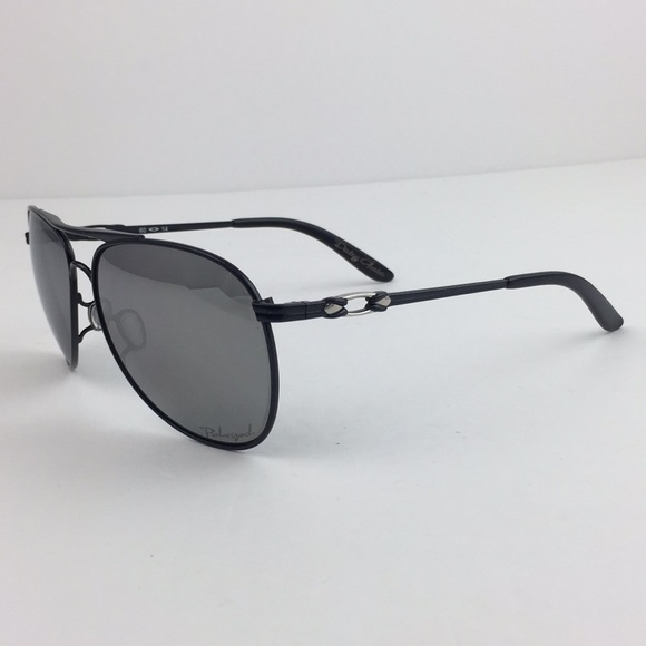d21c3e04b3 Oakley Daisy Chain Black Polarized Chrome Aviator.  M 5ad6c436caab444fb541d76e
